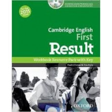 Cambridge English FIRST Result - Workbook with key + CD - Ed. Oxford