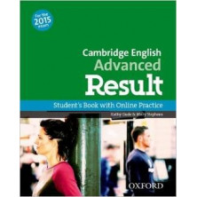 Cambridge English ADVANCED Result - Student's Book + Online skills practice - Ed. Oxford