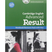 Cambridge English ADVANCED Result  - Workbook with key + CD - Ed. Oxford
