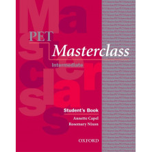 PET Masterclass Student's Book with introduction to PET Pack - Ed. Oxford