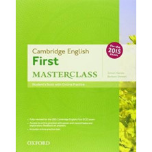 Cambridge English FIRST Masterclass - Student's Book + Online practice - Ed. Oxford