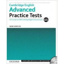 Cambridge English ADVANCED Practice Test with key + CD - Ed. Oxford