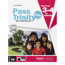 Pass Trinity Now GESE Grades 3-4 & ISE 0 - Student's Book + Audio CD - Ed. Vicens Vives