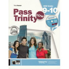 Pass Trinity Now GESE Grades 9-10 - Student's Book + Audio CD - Ed. Vicens Vives