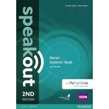 Speakout Starter Student's Book + DVD + Mylab Pack - Ed. Pearson