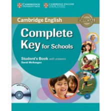 Complete KEY for Schools without answers - Student's Book + CD - Cambridge