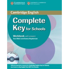 Complete KEY for Schools without answers - Workbook + CD - Cambridge
