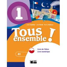 Tous Ensemble ! 1 - Livre de l'élève + DVD - Ed. Vicens Vives