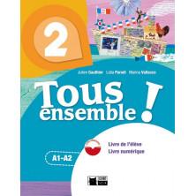 Tous Ensemble ! 2 - Livre de l'élève + DVD - Ed. Vicens Vives