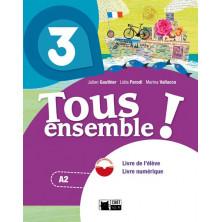 Tous Ensemble ! 3 - Livre de l'élève + DVD - Ed. Vicens Vives