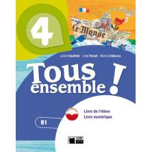 Tous Ensemble ! 4 - Livre de l'élève + DVD - Ed. Vicens Vives