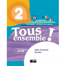 Tous Ensemble ! 2 - Cahier d'exercises + CD - Ed. Vicens Vives