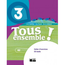 Tous Ensemble ! 3 - Cahier d'exercises + CD - Ed. Vicens Vives