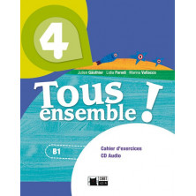 Tous Ensemble ! 4 - Cahier d'exercises + CD - Ed. Vicens Vives