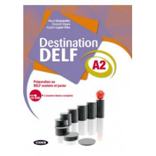 Destination DELF A2 + CD - Ed. Vicens Vives
