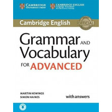 Grammar and Vocabulary for ADVANCED with answers + CD - Cambridge