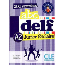 ABC DELF A2 Junior Scolaire + CD - Ed. Cle international