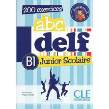 ABC DELF B1 Junior Scolaire + CD - Ed. Cle international