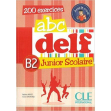 ABC DELF B2 Junior Scolaire + CD - Ed. Cle international