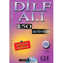 DILF A1.1 Cahier d'exercises + CD - Ed. Cle international