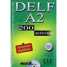 DELF A2 Cahier d'exercises + CD - Ed. Cle international