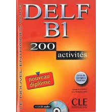 DELF B1 Cahier d'exercises + CD - Ed. Cle international
