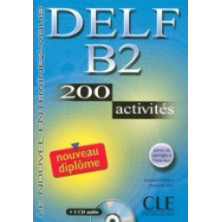 DELF B2 Cahier d'exercises + CD - Ed. Cle international