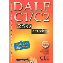 DELF C1 - C2 Cahier d'exercises + CD - Ed. Cle international