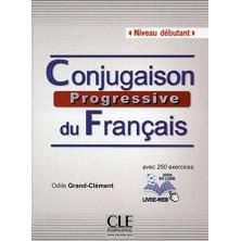 Conjugaison Progressive du Français A1 - A2 - Ed. Cle international