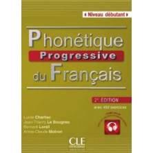 Phonétique Progressive du Français A1 - Ed. Cle international