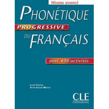 Phonétique Progressive du Français B2 - C1 - Ed. Cle international