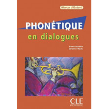 Phonétique en dialogues - Ed. Cle international