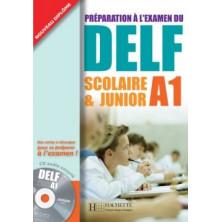 DELF A1 Scolaire et Junior + CD - Ed. Hachette