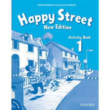 Happy Street 1 - Activity Book + Multirom - Ed. Oxford