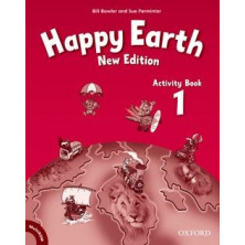 Happy Earth 1 - Activity Book + Multirom - Ed. Oxford