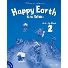 Happy Earth 2 - Activity Book + Multirom - Ed. Oxford