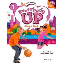 Everybody Up 1 - Student's Book + Audio CD - Ed. Oxford
