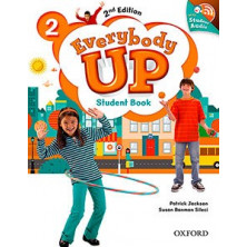 Everybody Up 2 - Student's Book + Audio CD - Ed. Oxford