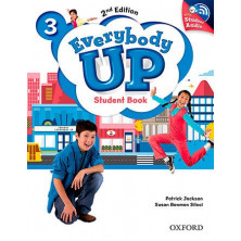 Everybody Up 3 - Student's Book + Audio CD - Ed. Oxford
