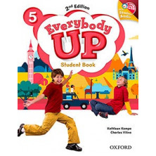 Everybody Up 5 - Student's Book + Audio CD - Ed. Oxford