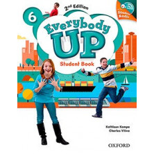 Everybody Up 6 - Student's Book + Audio CD - Ed. Oxford