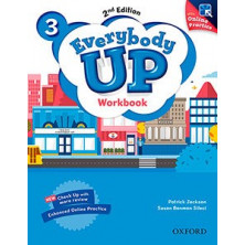 Everybody Up 3 - Workbook + Online Practice - Ed. Oxford