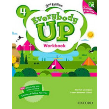 Everybody Up 4 - Workbook + Online Practice - Ed. Oxford