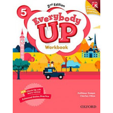 Everybody Up 5 - Workbook + Online Practice - Ed. Oxford