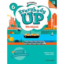 Everybody Up 6 - Workbook + Online Practice - Ed. Oxford
