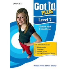 Got It! Plus 2 - Pack with online skills practice - Student's Book + MultiROM - Ed. Oxford