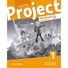 Project 1 - Workbook + CD + Online Practice - Ed. Oxford