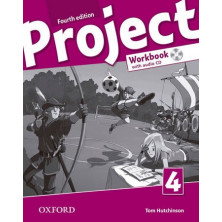 Project 4 - Workbook + CD + Online Practice - Ed. Oxford