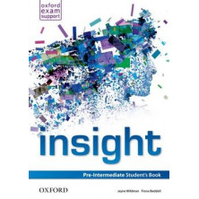 Insight Pre-Intermediate- Student's Book - Ed. Oxford