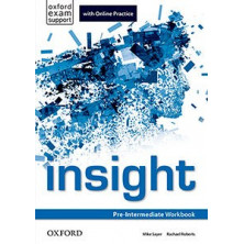 Insight Pre-Intermediate - Workbook + Online Practice - Ed. Oxford
